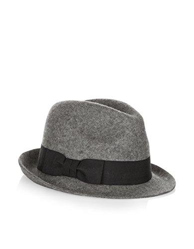 Accessorize Womens Grossgrain Trilby Hat