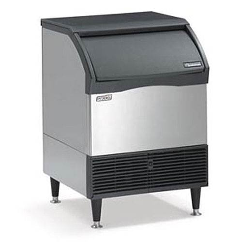 Undercounter Ice Maker Scotsman (Scotsman Air Cool 200 LB. Prod. Prodigy Ice Cube Maker w/ 80 LB. Bin)
