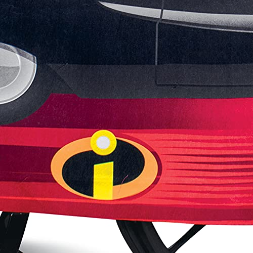 Incredibles Car Adaptive Wheelchair Cover for Kids, Official Incredibles Rolling Costume for Wheelchair