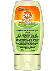 OFF! FamilyCare Deet Free Insect and Mosquito Repellent Lotion, Non-Greasy and Non-Sticky on Skin, 118mL