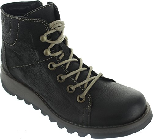 Boots Women's London Fly Combat Leather Sire WXRCHCqZwn