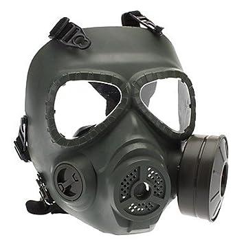CeeMart calavera estilo máscara de gas para exterior Juegos de guerra – ejército verde