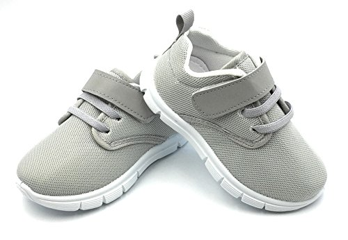 Bless Children Baby Toddlers Boy's Girl's Breathable Fashion Sneakers Walking Running Shoes,Grey1203.Size (Boys Shoe Size)
