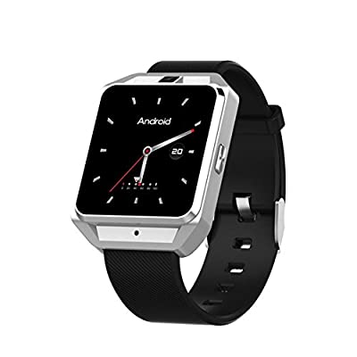 Microwear Smart Watch, GPS 4G & WiFi Smart Camera Watch 5MP Photo Taking Smart Sport Watch with Heart Rate, Sleep Quality and Sports Data Monitoring Function for Android