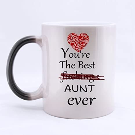 Amazoncom Great Aunt Gifts Funny Quotes Youre The Best Fucking