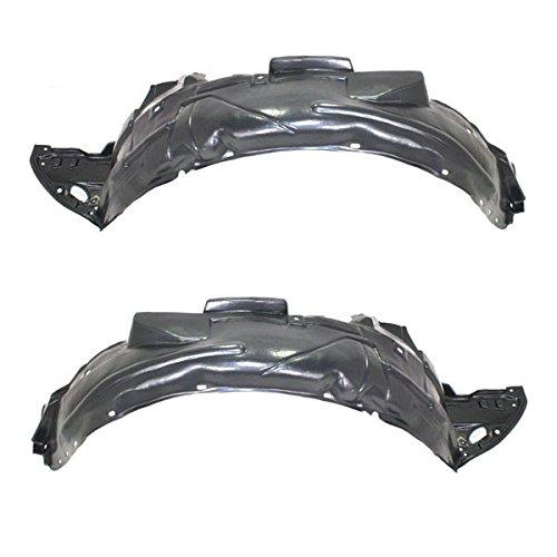 - Koolzap For 06-11 Civic Si Coupe Front Splash Shield Inner Fender Left & Right SET PAIR