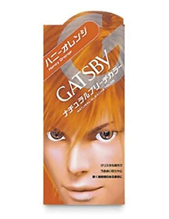 Amazon Com Gatsby Natural Bleach Color Honey Orange Chemical
