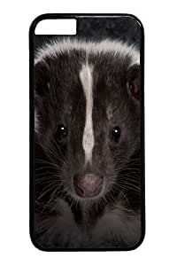 For Apple Iphone 5/5S Case Cover and Cover -Skunk Portrait PC For Apple Iphone 5/5S Case Cover inch Black
