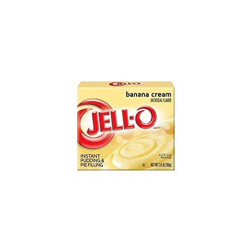 Banana Cream Pie Pudding (Jell-O Instant Pudding And Pie Filling - Banana Cream - 3.4 Ounces)