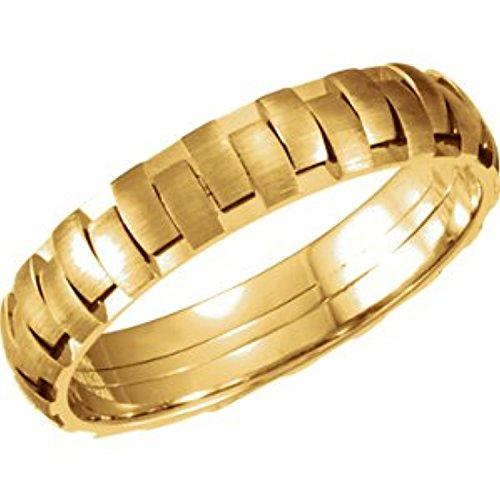 Yellow Gold Bridal Duo Band - 1