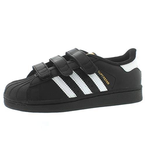 - Adidas Kids Superstar CF C CORE Black White CORE Black Size 13.5