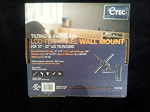 Amazon Com Etec Tilting And Swiveling Wall Mount Home