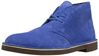 Clarks Men's Bushacre 2 Chukka Boot, Blue Suede, 9 M US/42 EU (B013DIBJW8) | Amazon price tracker / tracking, Amazon price history charts, Amazon price watches, Amazon price drop alerts
