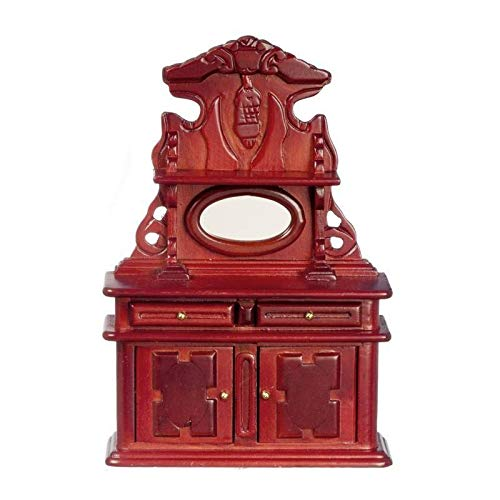 Dollhouse Miniature Victorian Mahogany Sideboard ()