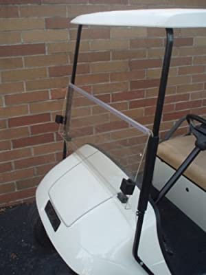 CLEAR Windshield for EZGO TXT Golf Cart 1995 & Up