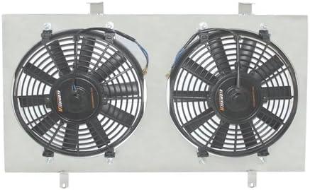 Mishimoto MMFS-CIV-06SI Performance Aluminum Fan Shroud Compatible With Honda Civic Si 2006-2011 Silver
