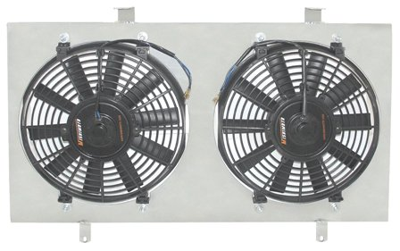 - Mishimoto MMFS-INT-94 Acura Integra Performance Aluminum Fan Shroud Kit, 1994-2001, Silver