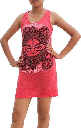 Full Funk RaanPahMuang Short Cotton Ladies Sleeveless Dress babu Beebop Paisley Chick, Large, - Dress Paisley Warehouse