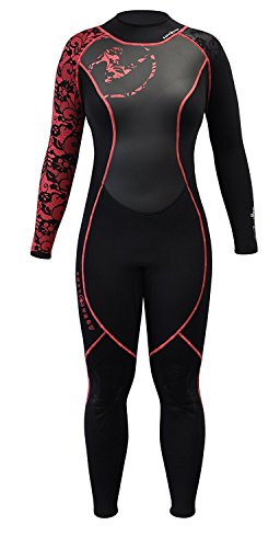 Aqua Lung Women's HydroFlex 3mm Wetsuit, Black