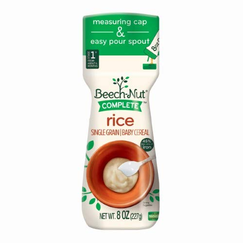 Beech Nut, Cereal Baby Complete Rice, 8 Ounce