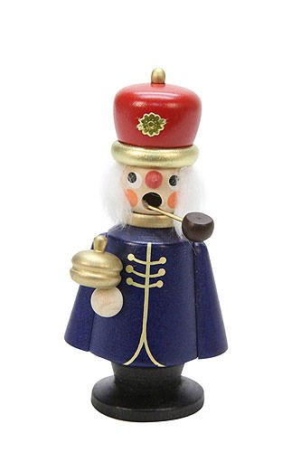 German Incense Smoker Melchior - 10,5 cm / 4 inch - Authentic German Erzgebirge Smokers - Christian Ulbricht