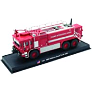 Oshkosh Crash Fire Truck Diecast 1:64 Model (Amercom GB-3)