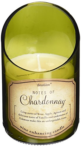 Deco Glow CDL5470 Candle, Wine Bottle Chardonnay (Candles Wine Scented)