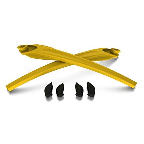 Oakley unisex-child Flak XS Sunglasses Ear Sock Accessories Kit, Yellow, One Size