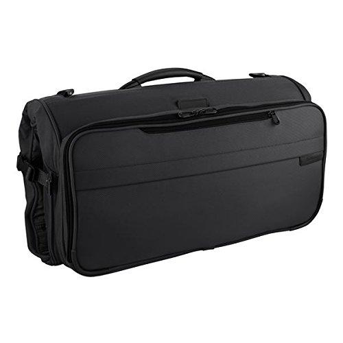 Briggs & Riley Baseline Compact Tri-Fold Garment Bag,Black -
