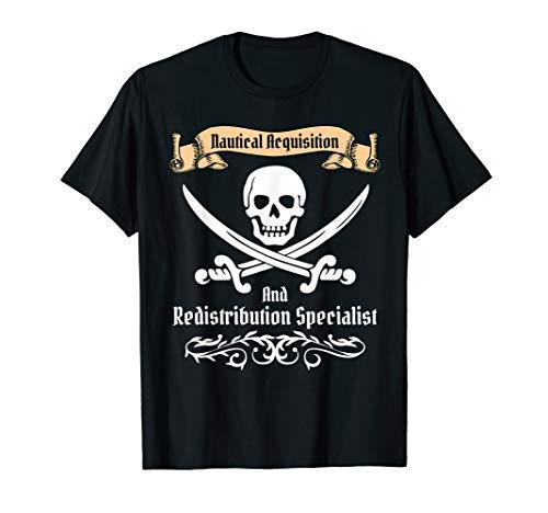 Pirate T Shirt Men Women Kids Funny Nautical