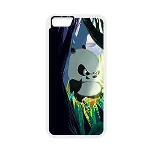 Best Quality [LILYALEX PHONE CASE] Cute Pandas For Apple Iphone 6 Plus 5.5 inch screenCASE-7