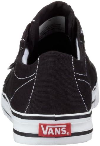 Vans W TORY VXFQBLK, Baskets mode femme Noir (Black), 42