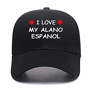 I Love My Alano Espanol Personalized Custom Made New Monogrammed Hat! Add Any Design Picture Logo Image 9