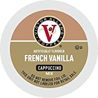Coffee French Vanilla Flavored Cappuccino, Victor Allen's Single Serve Coffee K-Cup Pods, 42 Count, 2 Pack