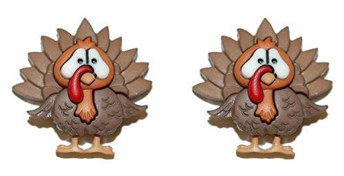 Cute Thanksgiving Turkey Stud Earrings (H123)