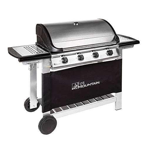 Fire Mountain Everest 4 Burner Gas Barbecue with Gas Regulator and Hose included...