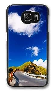 Heart shaped cloud Polycarbonate Hard Case Cover for Samsung S6/Samsung Galaxy S6 Black Kimberly Kurzendoerfer