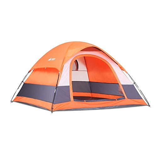 SEMOO Camping Tent Water Resistant 3-Person 1 Door 3-Season Lightweight Dome Tent with Portable Bag
