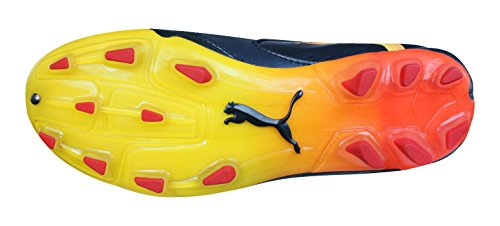 Puma PowerCat 2.10 FG Tricks Niños botas de fútbol Black