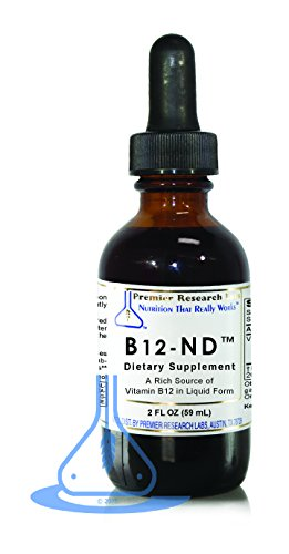 B12-ND TM, 46 Servings - A Rich Source of Vitamin B12 In Liquid Form