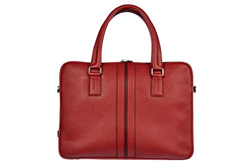tods-briefcase-attache-case-laptop-pc-bag-leather-iconic-red