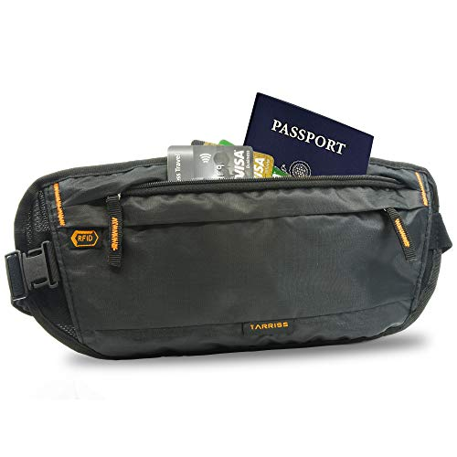 1f51dc693b5f Details about Tarriss Money Belt for Travel - RFID Blocking Hidden Travel  Pouch
