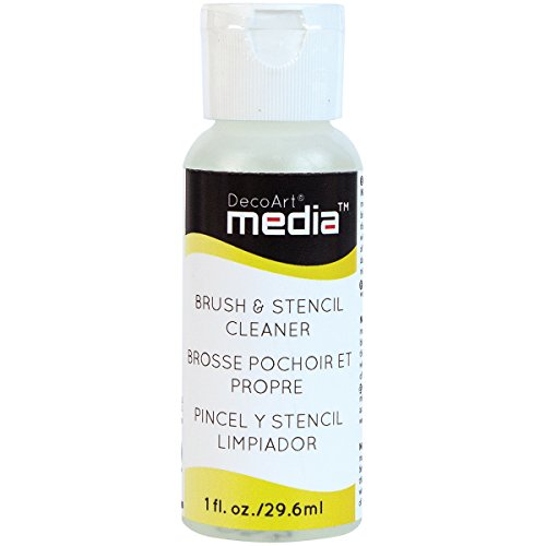 Deco Brush Stencil Cleaner 2 Ounce