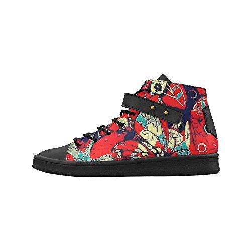 Artsadd Butterfly Round Toe Womens Shoes Boost Sneaker