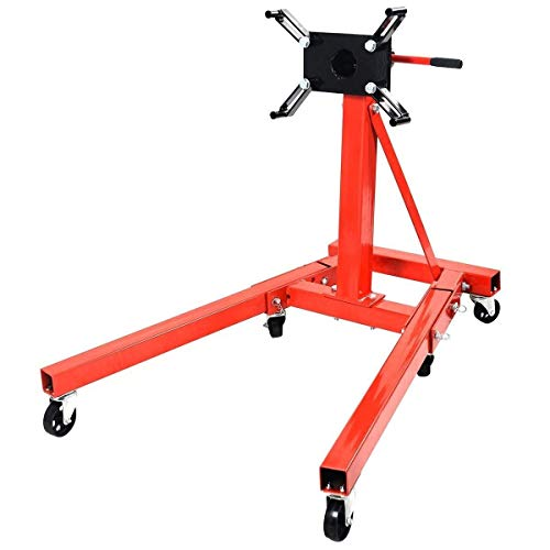 Goplus Engine Stand Motor Hoist Auto Car Truck Automotive Jack (2000-lb Capacity)