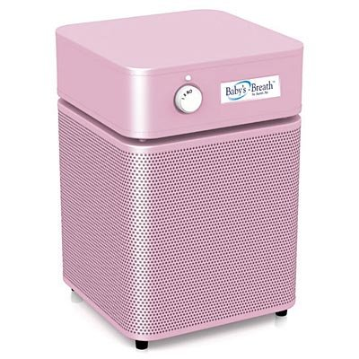 Austin Air A205H1 Baby's Breath Air Purifier, Junior, Pink