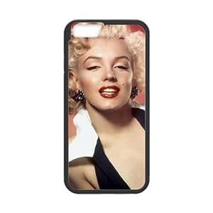 Marilyn Monroe iPhone 6 Plus 5.5 Inch Cell Phone Case Black E9H1ET