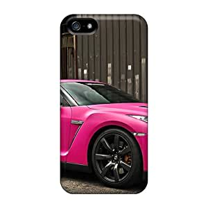 JoyRoom Case Cover For Iphone 5/5s - Retailer Packaging Nissan Gtr In Matte Pink Protective Case