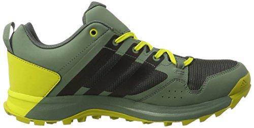 adidas Kanadia 7 Tr Gtx, Zapatillas de Running Para Asfalto Hombre Verde (Utility Ivy/Core Black/Unity Lime)
