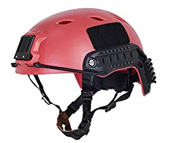 Brand New FMA Airsoft Paintball Protective Base Jump Helmet PROP RED L/XL L285